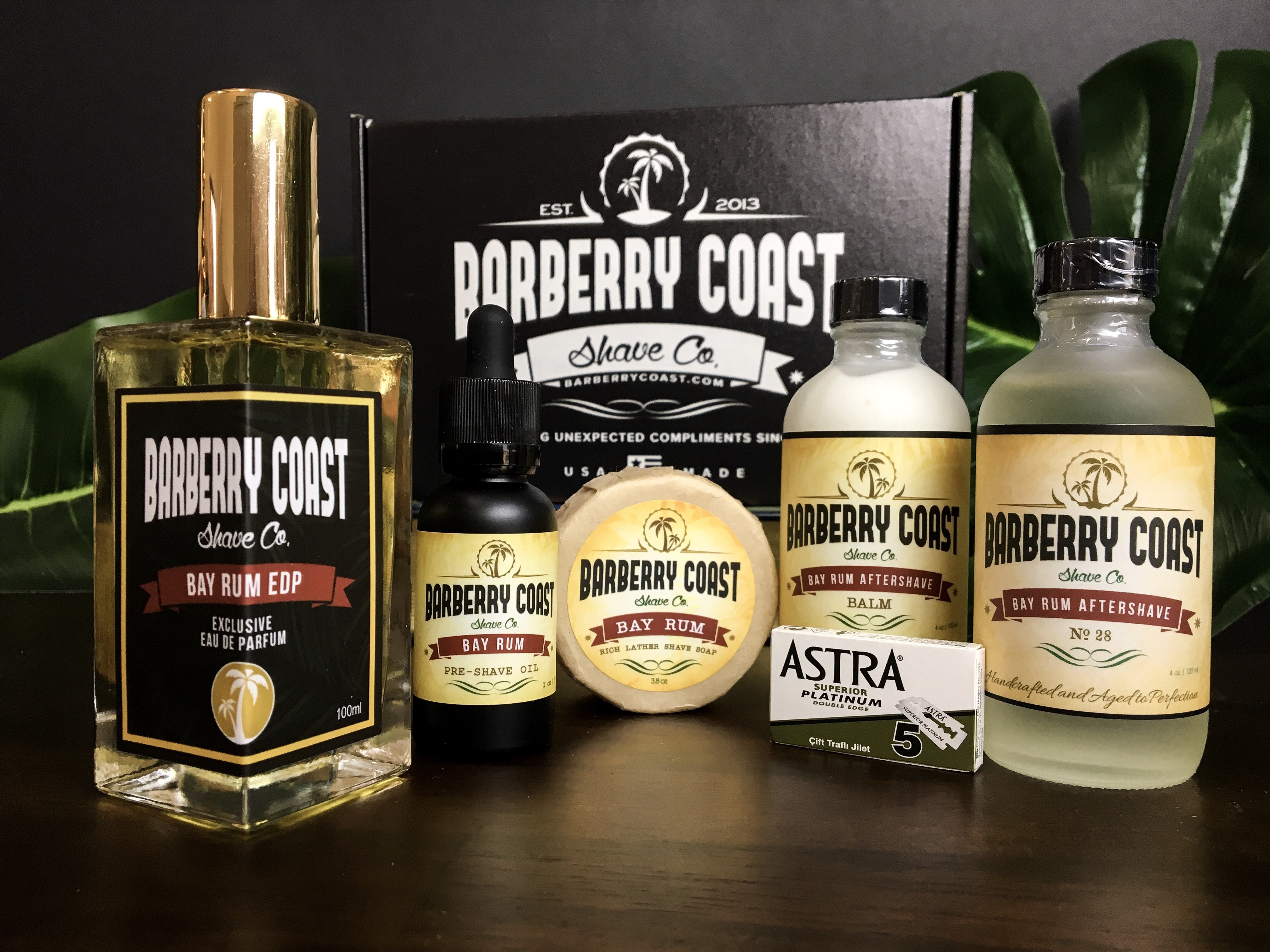 Bay Rum Shaving & Cologne Gift Set FREE Same Day Shipping