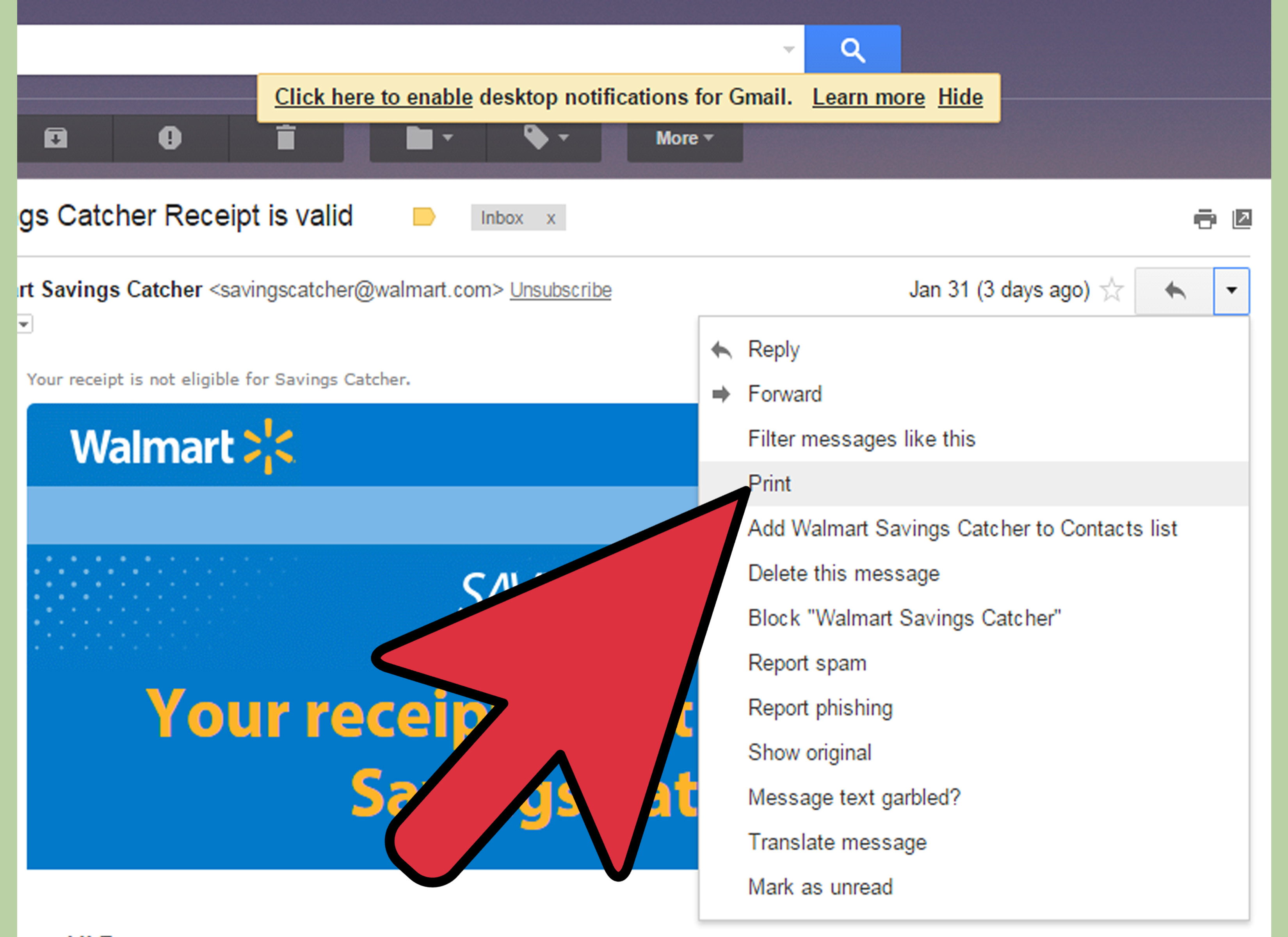 Get Coupons from Walmart s Savings Catcher Program Step 9