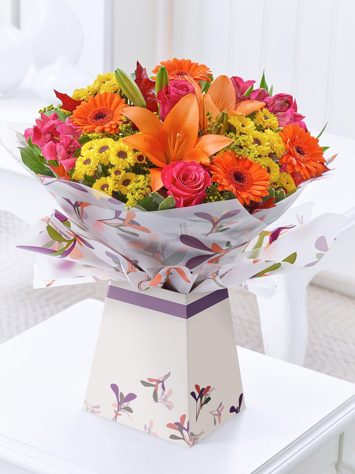 Cheer Box Vase Autumn Flowers Manchester Autumn Inspiration Design Autumn 2017 Boxing Fake Flower Arrangements