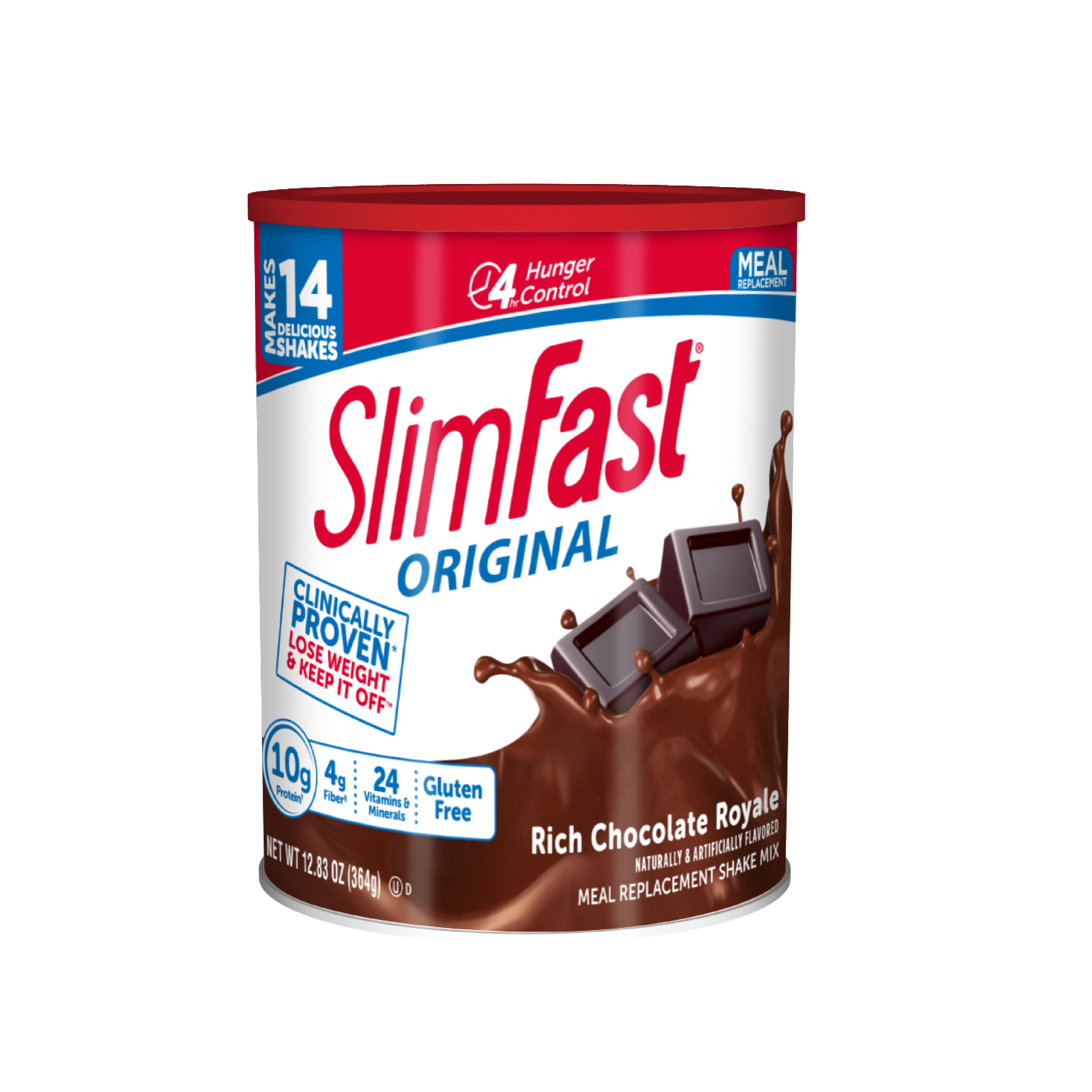 SlimFast Original Meal Replacement Shake Mix Powder Rich Chocolate Royale 12 83oz 14 servings Walmart