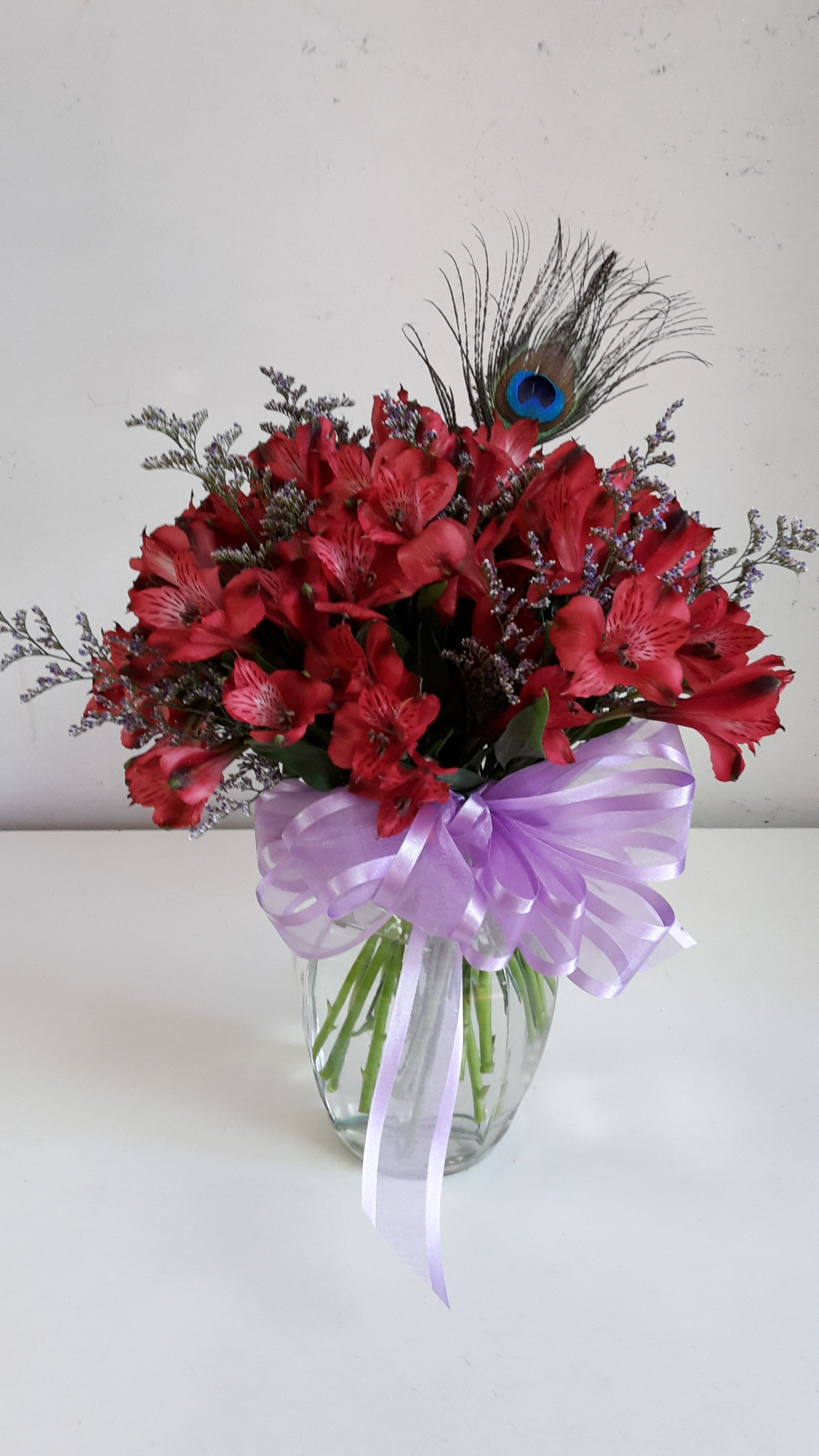 Next Day Delivery ADD TO FAVORITES Peacock Alstroemeria