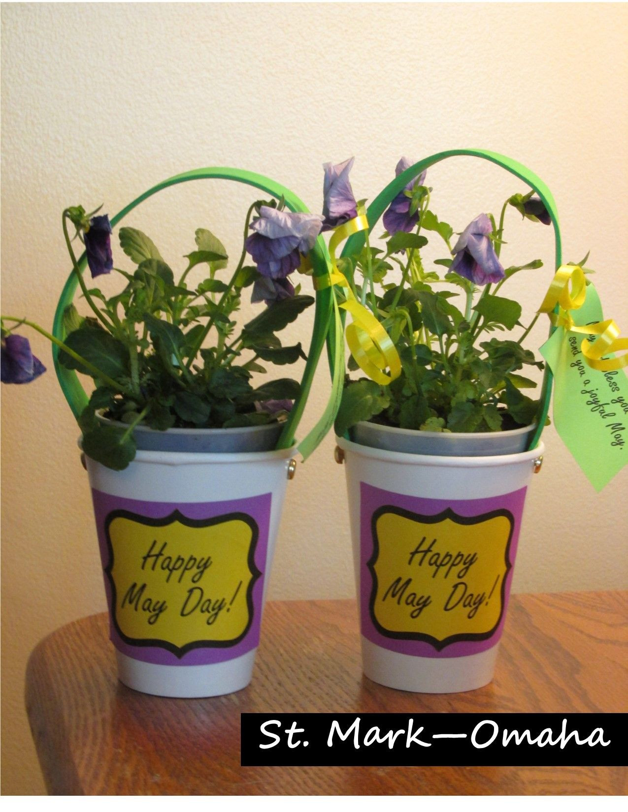 Same Day Flower Delivery Omaha Inspirational Sunday School Service May Day Baskets Made Out Of Paper Party Cups