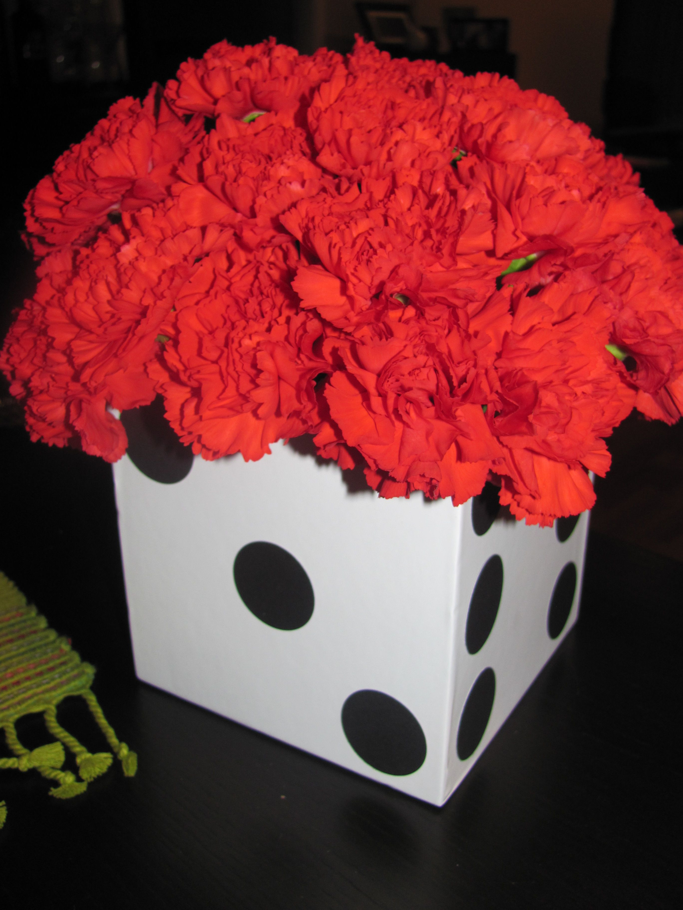 vegas theme wedding decorations
