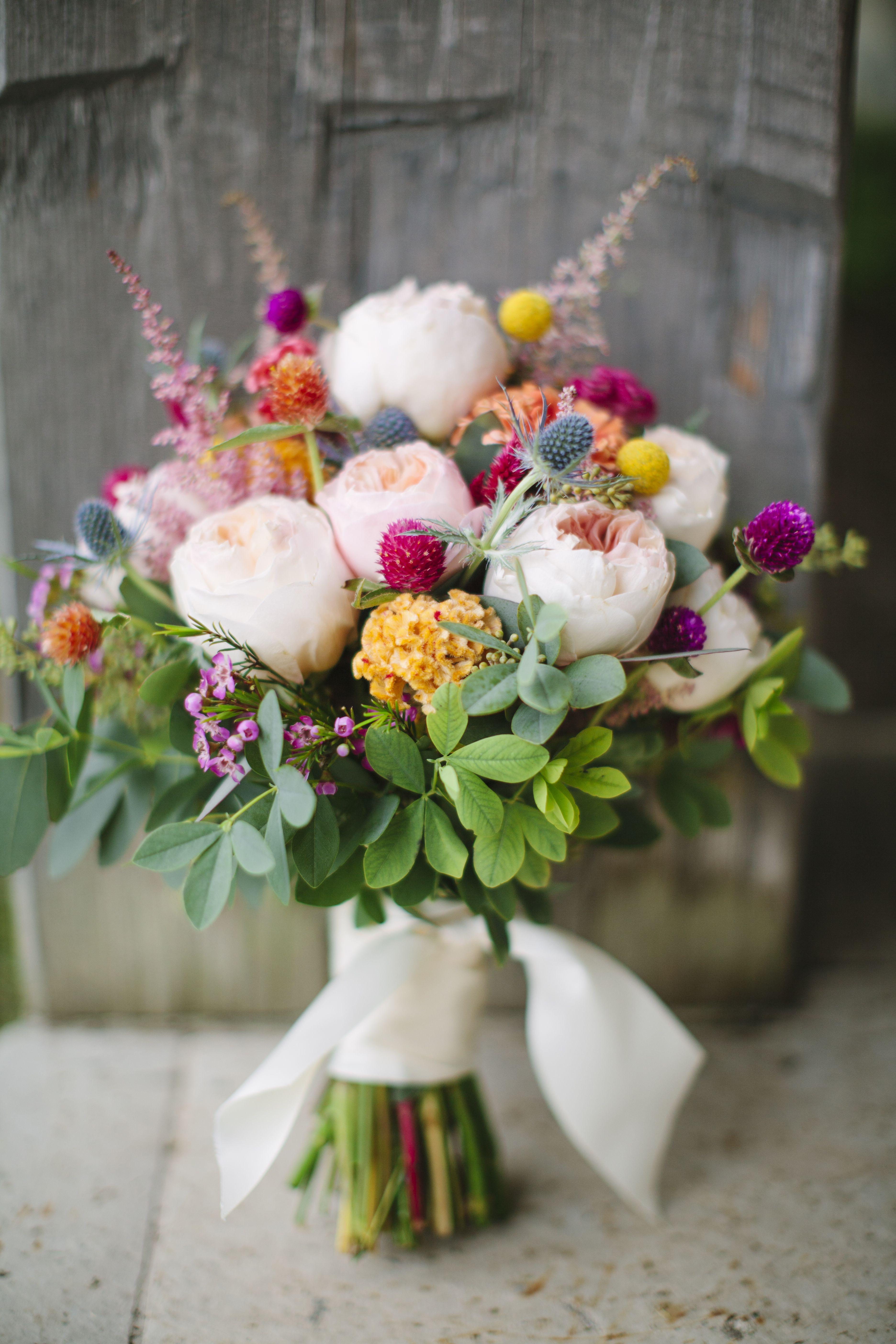 Colorful Wildflower Wedding Bouquet MadamPalooza