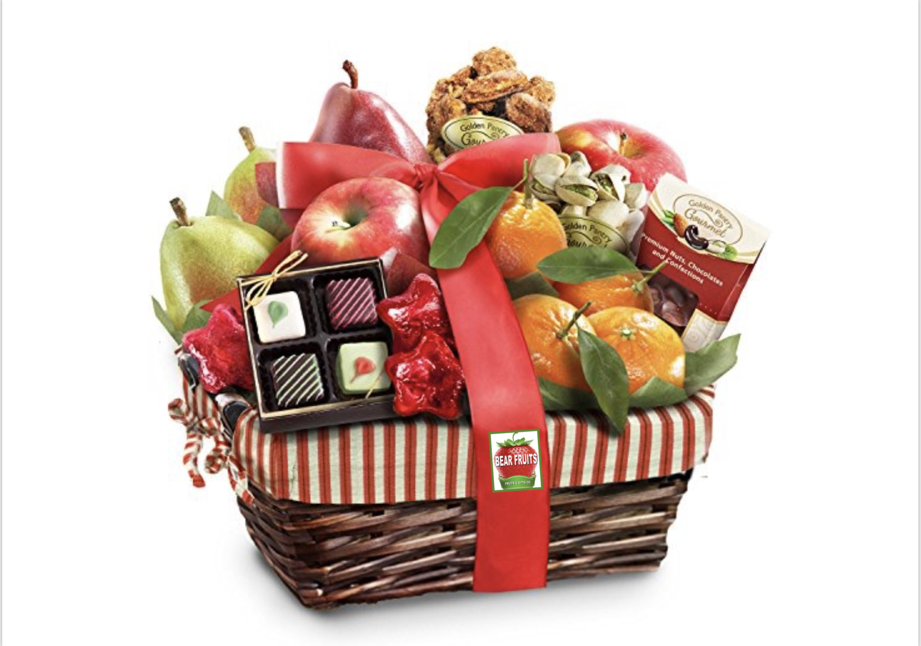 MEDIUM BASKETS WITH FRUITS & NUTS