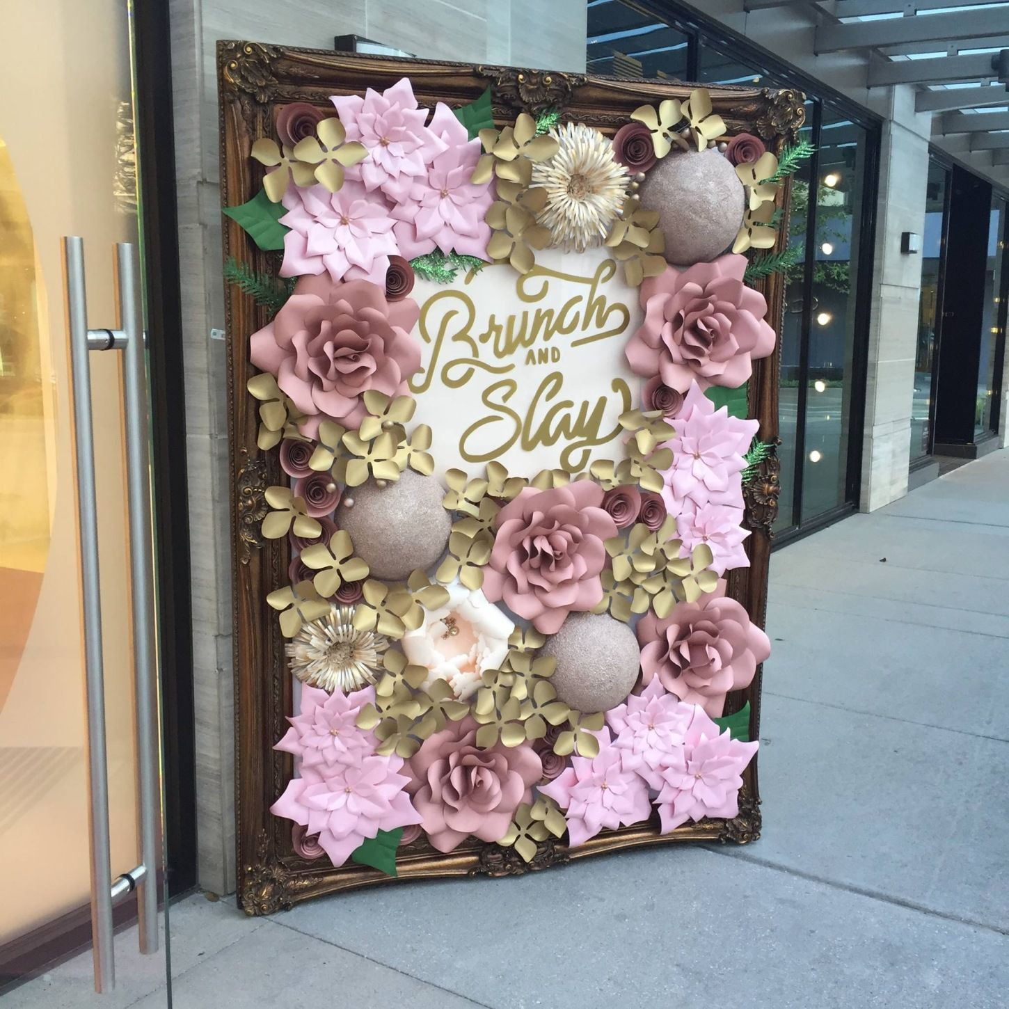 Paper Flower Wall Rental Paper Flower Wall Rentals and Paper Flower Arch Rental for Weddings bridal showers baby showers quinceaneras