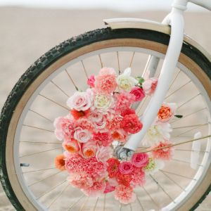 Send Flowers From Us to Canada Unique Diy Floral Beach Cruiser Surrounded with Flowers Iv