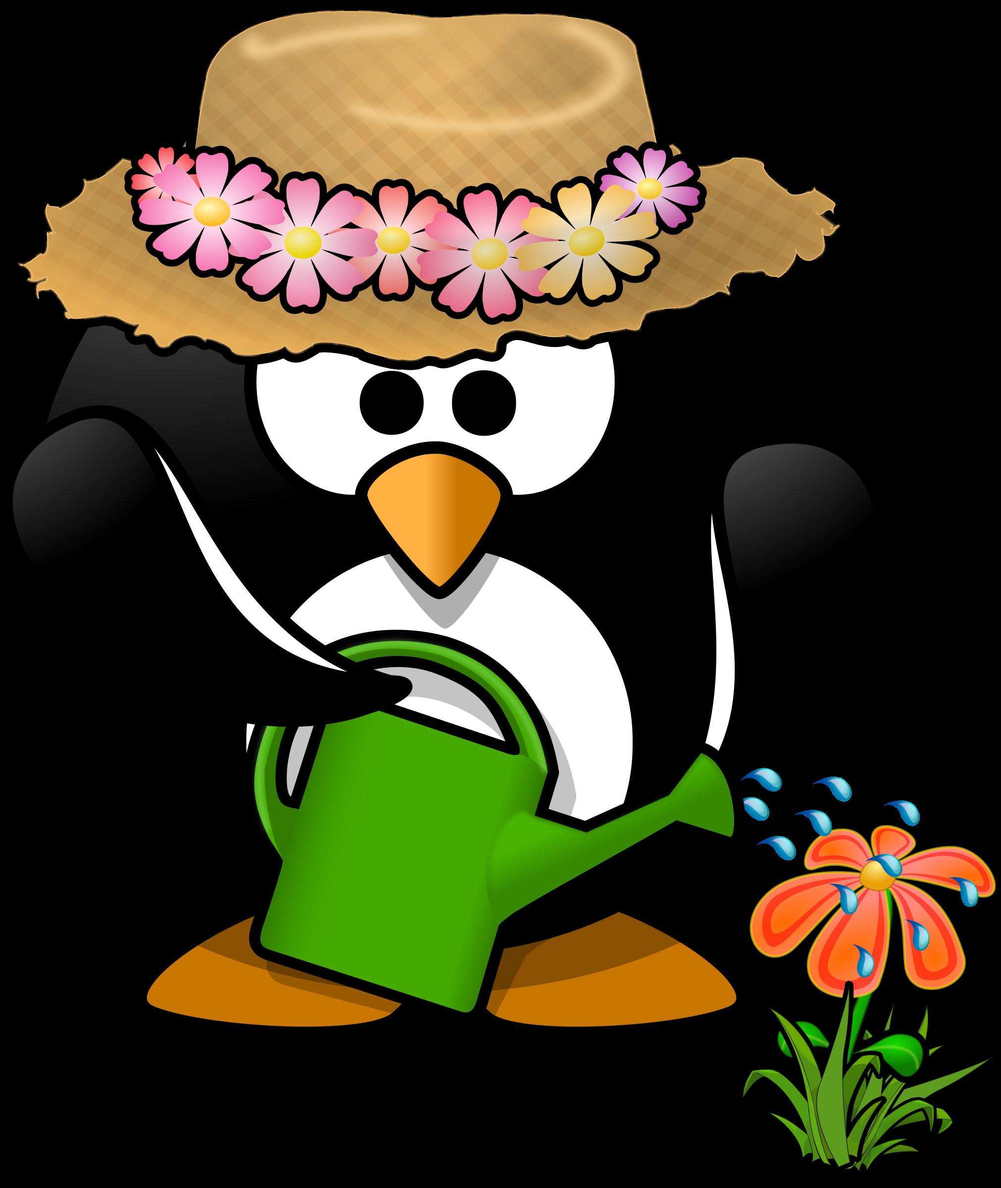 Microsoft clip art gardening clipart garden penguin toublanc info