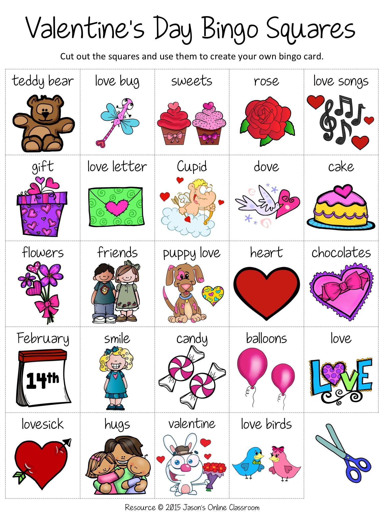 Free Valentine s Day Bingo