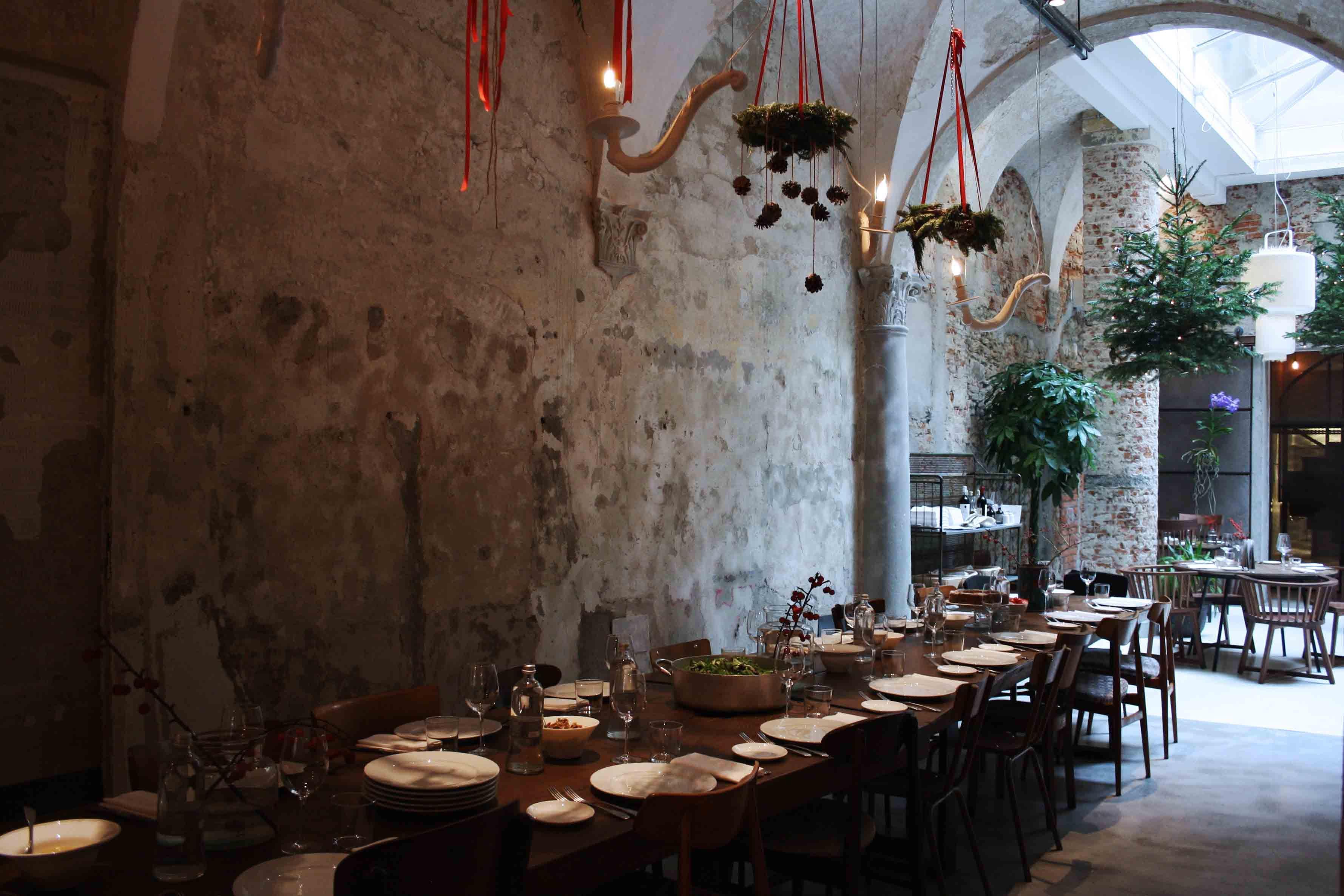 La Ménag¨re concept restaurant bistrot flower shop design store