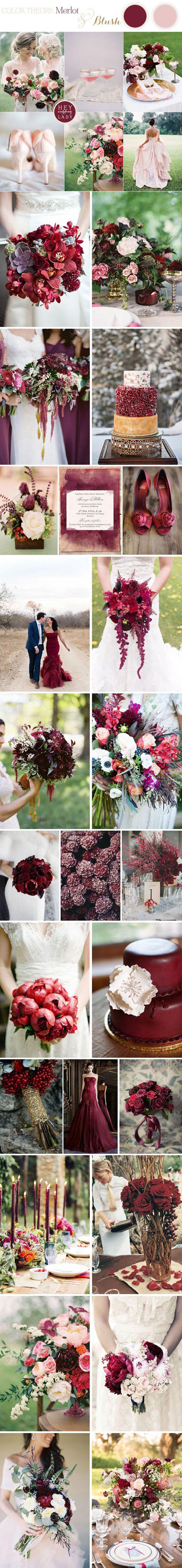 Gallery pantone color of 2015 marsala wedding color ideas Deer Pearl Flowers