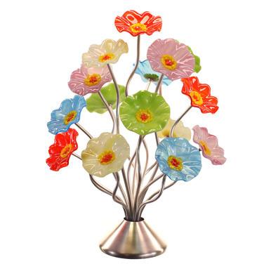 Glass Flower Bouquet Tree Arrangements (Artcraff Online)