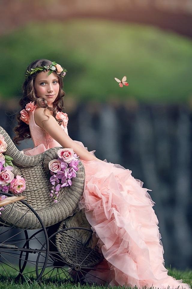 Pink Flower Girl Dresses (best-wallpaper.net)