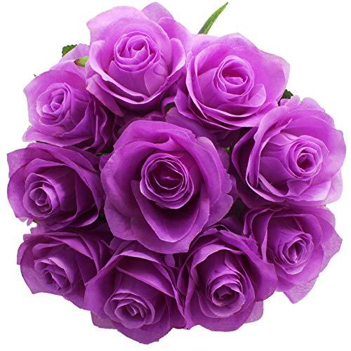 Purple Rose Flower (amazon.com)