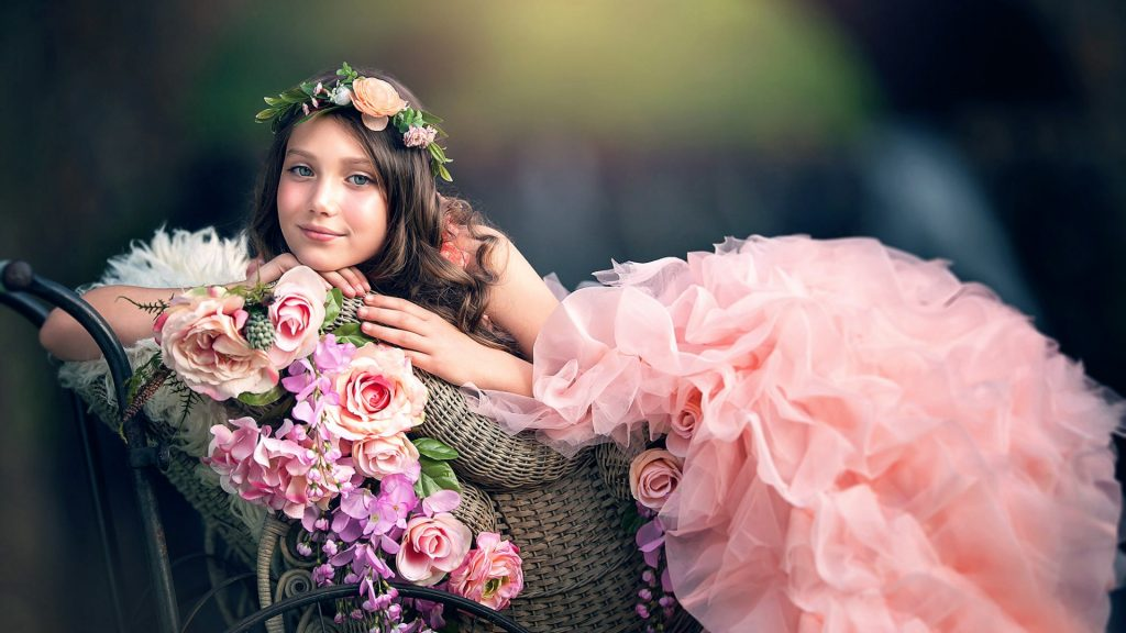 The Beauty of Pink Flower Girl Dresses (Fashion Era Online)