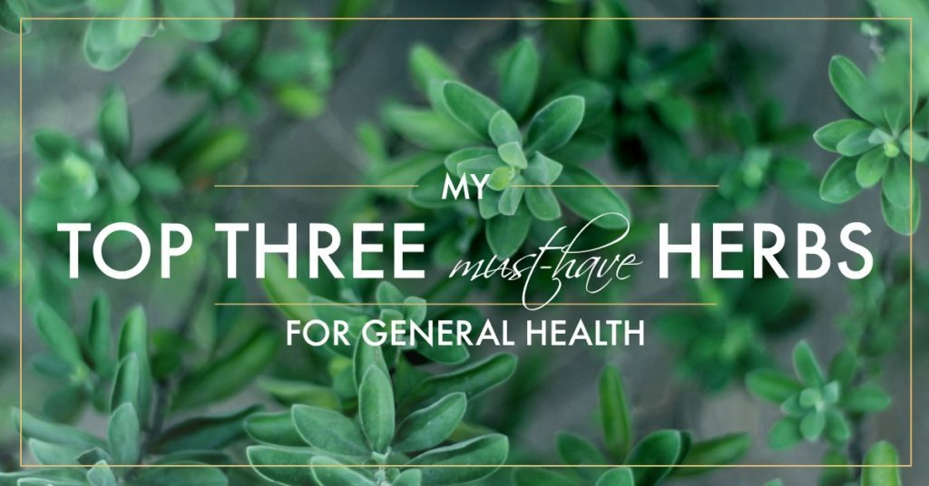 Three Great Herbs For Health (Shawnee Moon)
