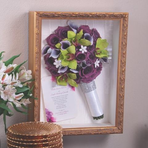 Wedding Flower and Bouquet Preservation (Keepsake Floral)