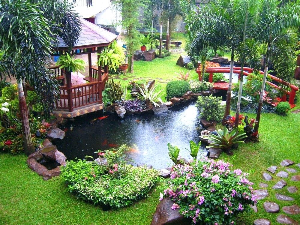 Amazing Backyard Landscaping Ideas Decorating (Hellohr)