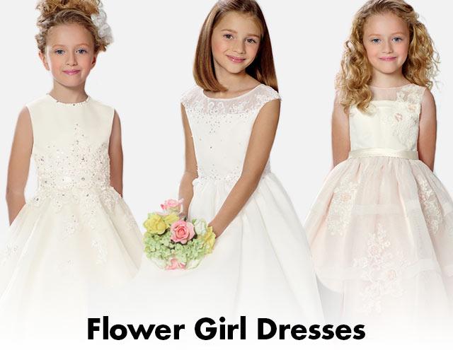 Spaghetti Strap Ribbon Waist Dress - Colorful Flower Girl Dresses (Dillard's)
