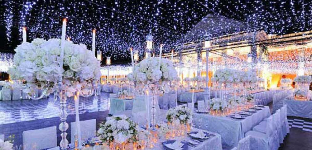 The winter wedding theme (Flashbox Films)
