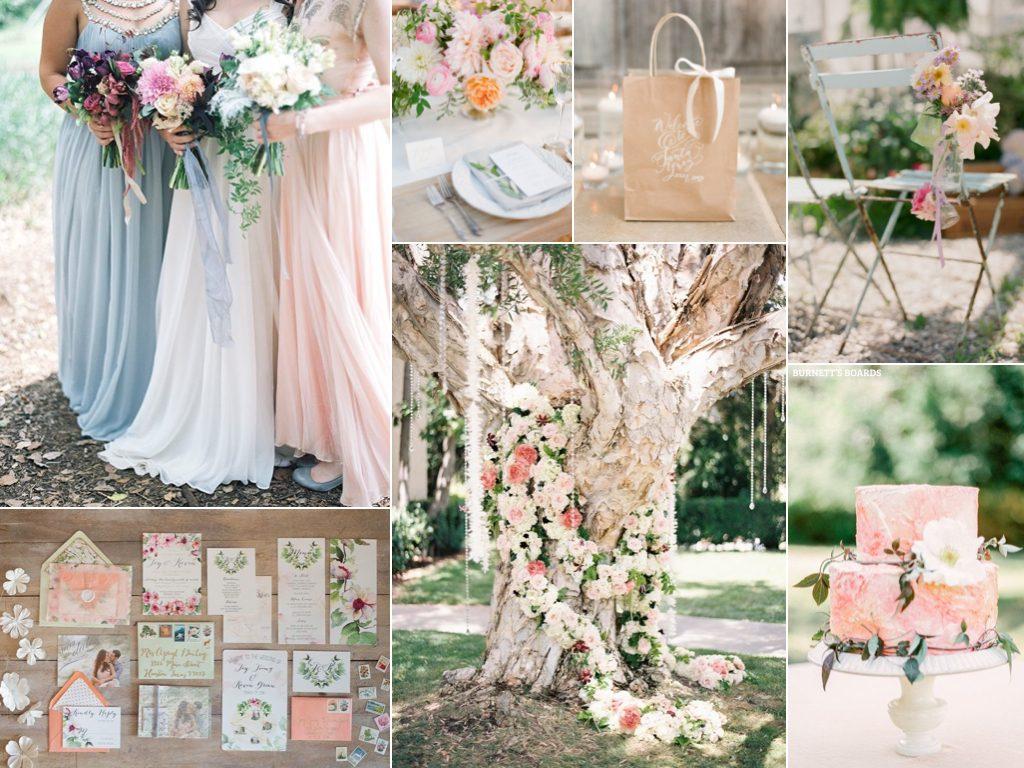 Themed Wedding Flower Ideas floral-themed-spring-wedding