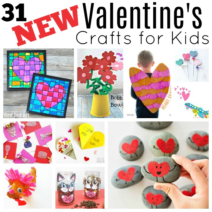 Valentine Flowers And Crafts For Children Of All Ages (Red Ted Art)